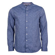 Tommy Hilfiger COTTON LINEN CHAMBRAY NAVY