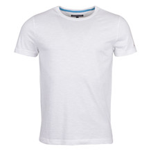 Tommy Hilfiger FLAME J C-NK TEE WHITE