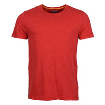 Tommy Hilfiger FLAME J. C.NK TEE RED
