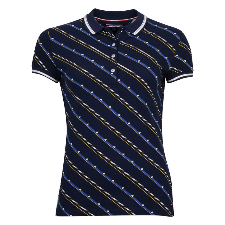 Tommy Hilfiger NEW CHIARA POLO DIAGONAL