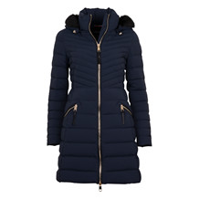 Tommy Hilfiger NEW NIKKI COAT MIDNIGHT