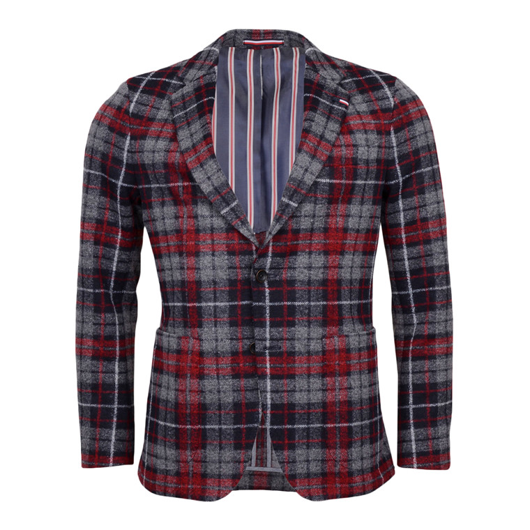 Tommy Hilfiger PEACOAT CHECK BLAZER