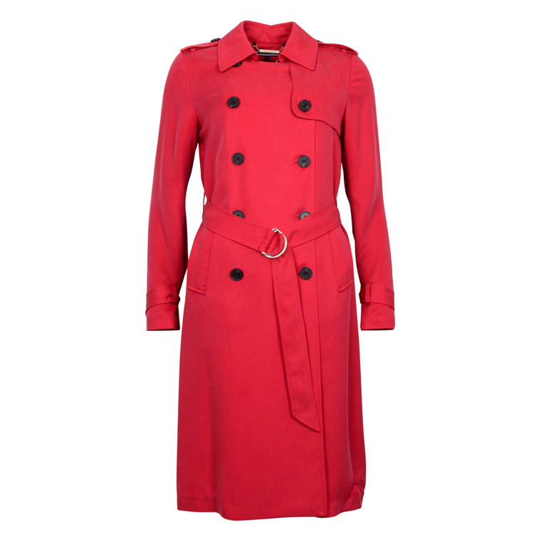 Tommy Hilfiger SHAWN TRENCH COAT RED