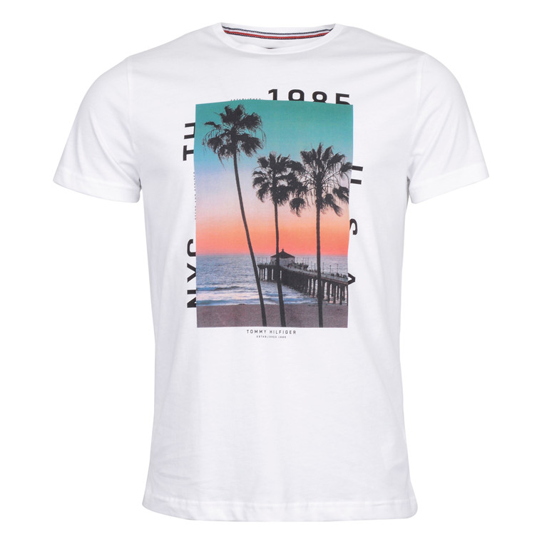 Tommy Hilfiger SUNRISE PHOTO TEE