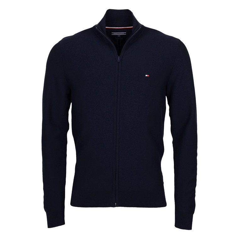 Tommy Hilfiger ZIP KNIT COTTON