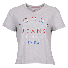 TOMMY JEANS EMBROIDERED LOGO S/S
