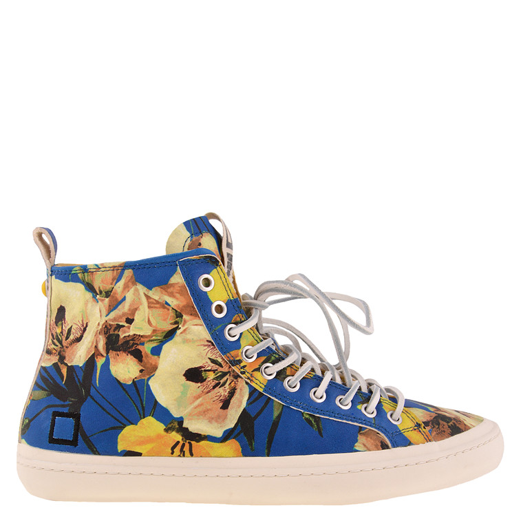 DATE Santos High Sneakers i Flower