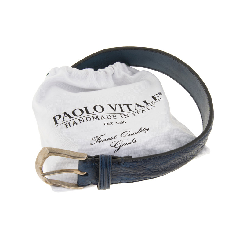 PAOLO VITALE WASHED BUFFALO BELT