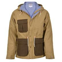 GANT RUGGER Wool Pocket Jakke i Army
