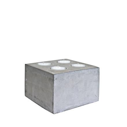 CRÉTON MAISON Fyrfadsstage H 10 cm
