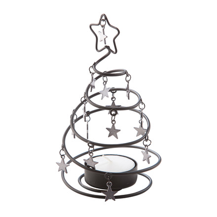 HAWALESCHKA HOME Juletræs fyrfadsstage H 14,5 cm