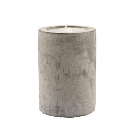 CRÉTON MAISON fyrfadsstage i beton H 8 cm