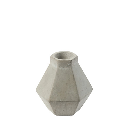 CRÉTON MAISON Emiko lysestage i beton H 7 cm