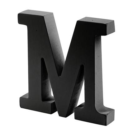 OPENMIND bogstav i træ M