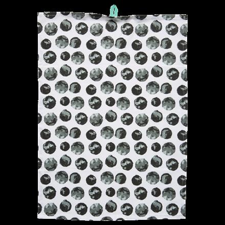 CRÉTON MAISON Watercolor Dots viskestykke 50 X 70 cm