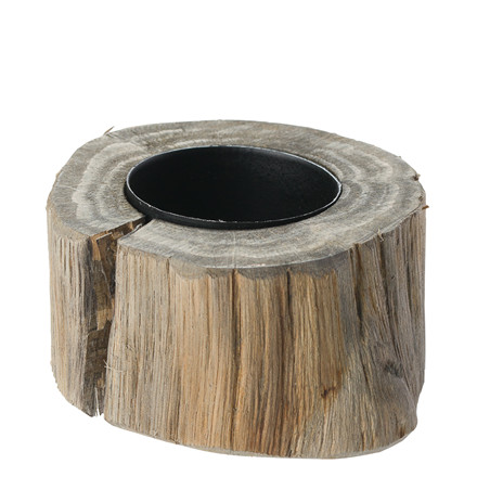 OPENMIND Fyrfadsstage i træ