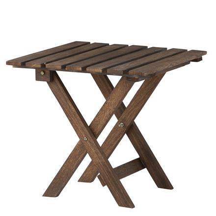 OPENMIND Dekorationsbord, brunt, lille