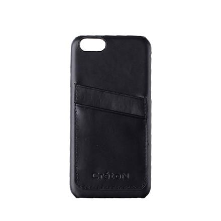CRÉTON MAISON iPhone 5 lædercover m. kortholder