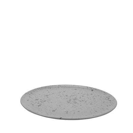 AIDA RAW steaktallerken grå spotted