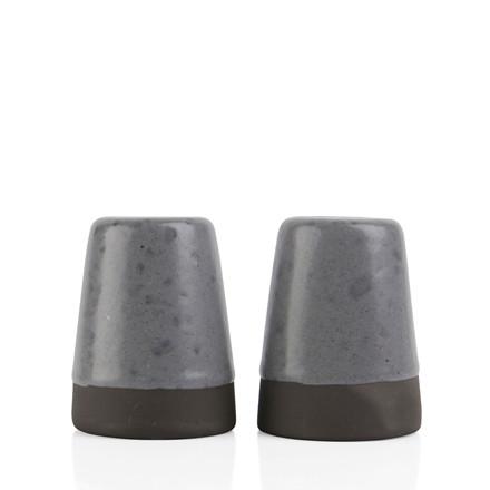 AIDA RAW salt og peber sæt grå spotted