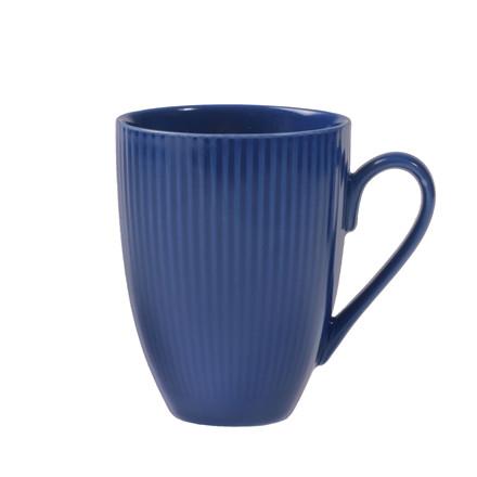 AIDA Groovy krus blå stentøj 30 cl