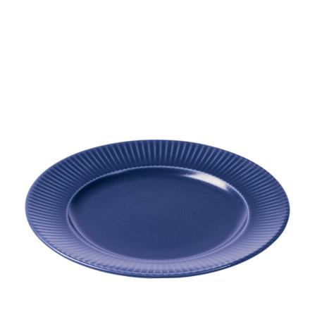 AIDA Groovy frokosttallerken blå stentøj