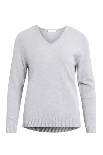 VILA Viril v-neck knit top noos