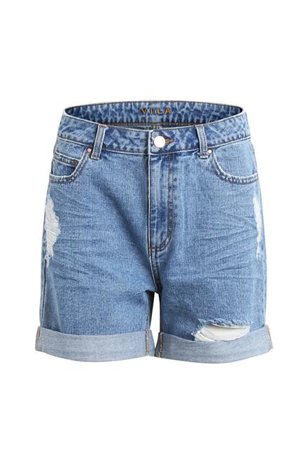 VILA Jules denim shorts
