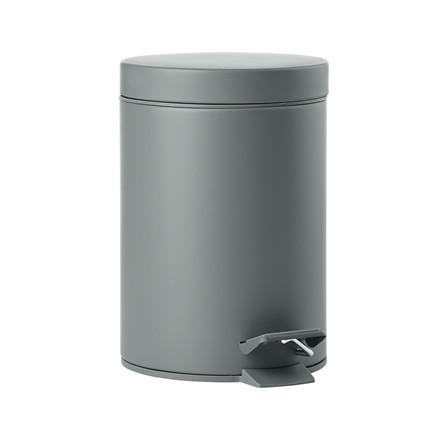 ZONE Solo Pedalspand grå m. 10 affaldsposer