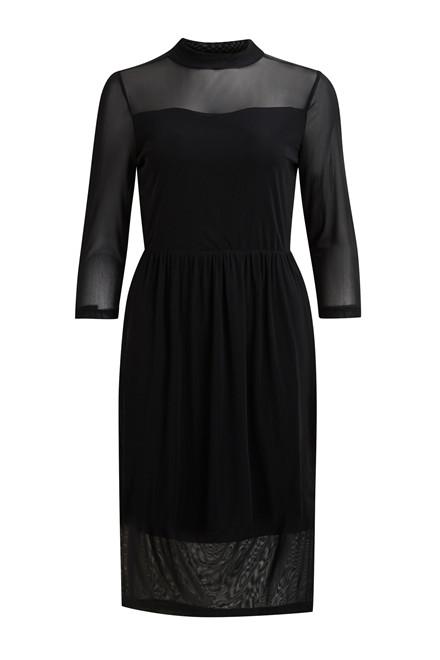 OBJECT Czech high neck  midi dress