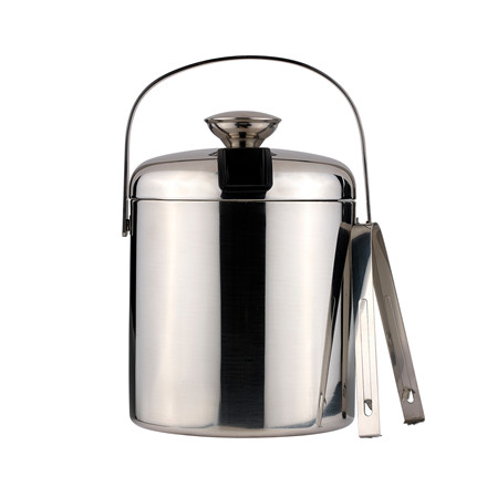 FUNKTION Isspand 1,4 liter med tang stål