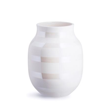 KÄHLER Omaggio vase 20 cm perlemor