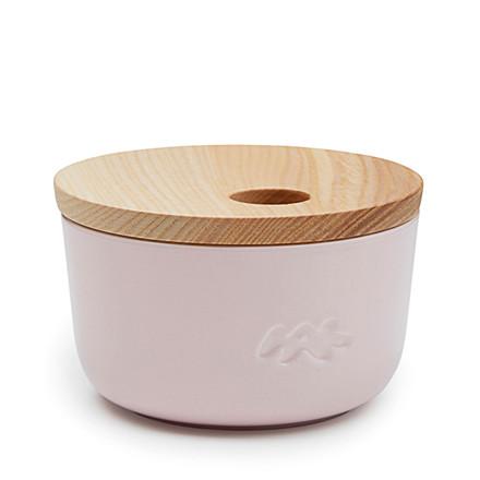 Kähler Unit opbevaringskrukke H 6 cm rosa