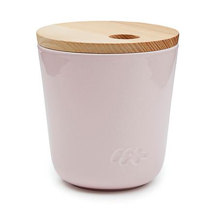 Kähler Unit opbevaringskrukke H 11,5 cm rosa