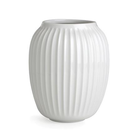 Kähler Hammershøi vase 20 cm hvid