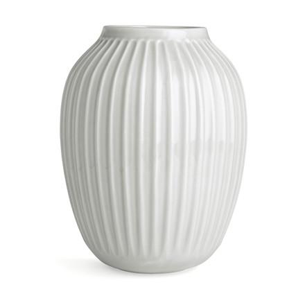 KÄHLER Hammershøi vase 25 cm hvid