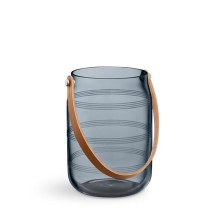 KÄHLER Omaggio lanterne H 16 cm blå