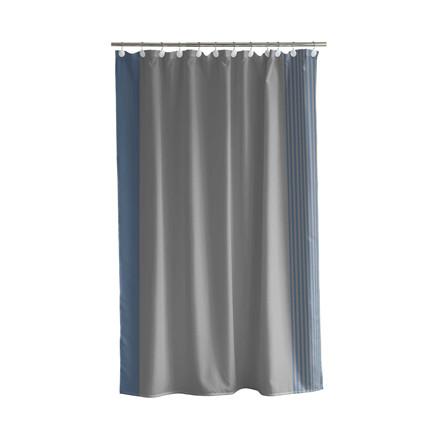 SÖDAHL Mist badeforhæng 180 X 200 cm grå/china blue