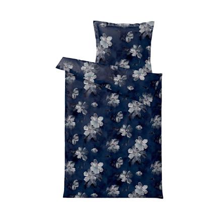 SÖDAHL Vintage Bloom sengelinned 140 X 200 cm indigo