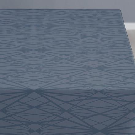 SÖDAHL Diamond Grid dug 140 X 270 cm china blue