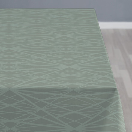 Södahl Diamond Grid dug 140 x 180 cm leaf
