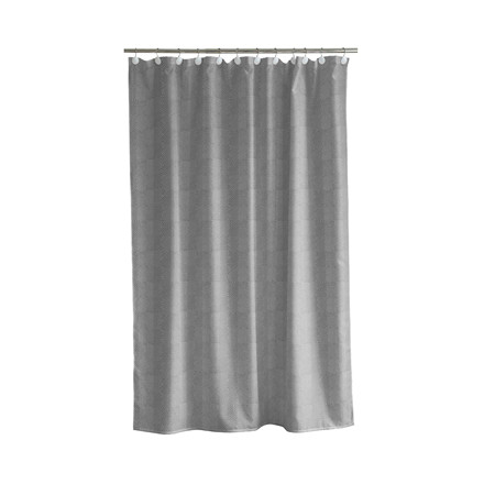 Södahl Sashiko badeforhæng 180 x 200 cm grå
