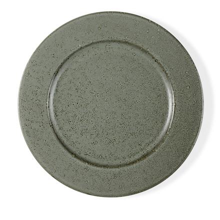 BITZ tallerken 27 cm grøn stentøj