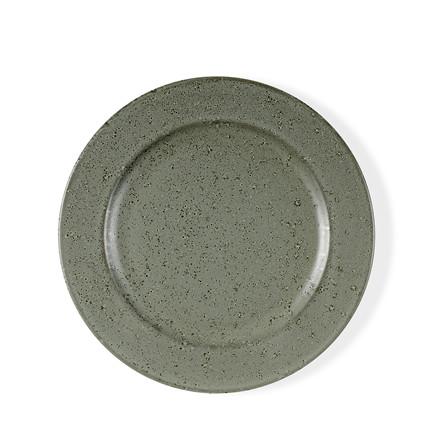 BITZ tallerken 22 cm grøn stentøj