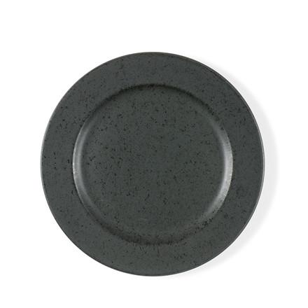 BITZ tallerken 22cm antracit sort stentøj