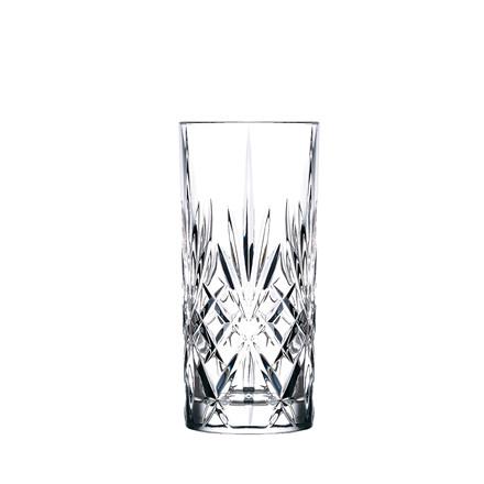 LYNGBY GLAS melodia highball krystalglas 6 stk.