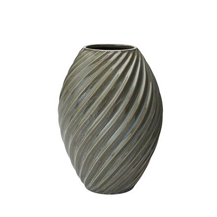 MORSØ Vase River 21 cm gråblå Morsø