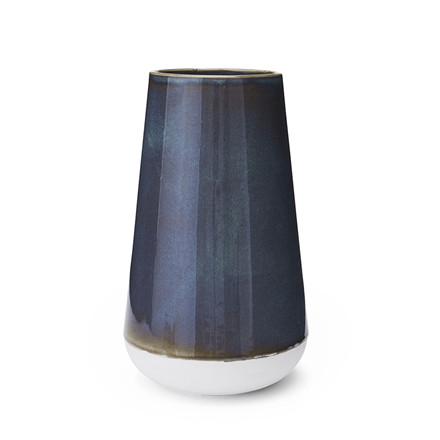 MORSØ Vase Glaze 25 cm blå/grøn