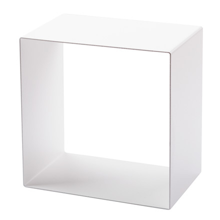 SHAPE IT metalbogkasse hvid 29 x 29 x 18 cm