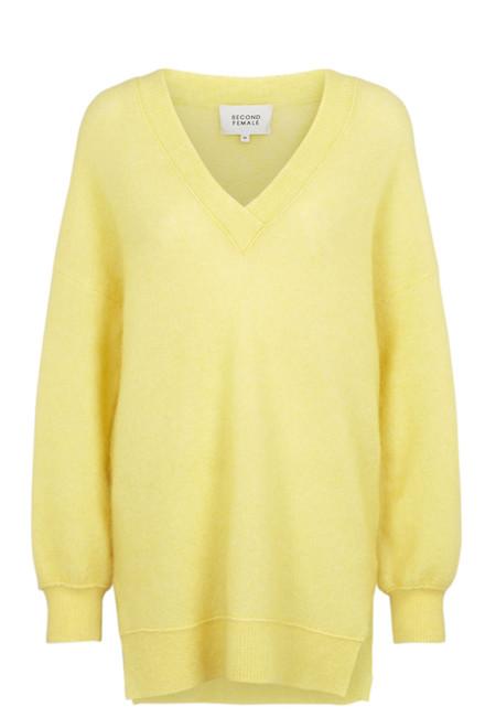 SECOND FEMALE Brook strik sweater